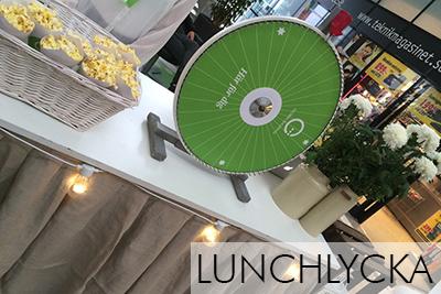 Globen-lunchlycka
